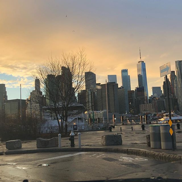 There is always sunshine after the rain #NYC