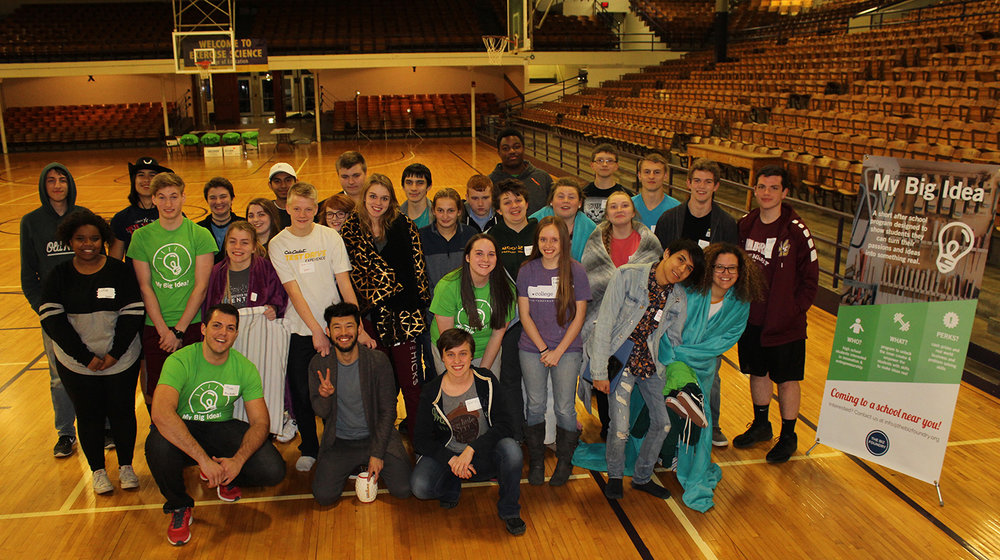 24 Hour Grand Finale Event - March 10th - 11th at TTU Memorial Gym | Group photo taken at 3:00AM!