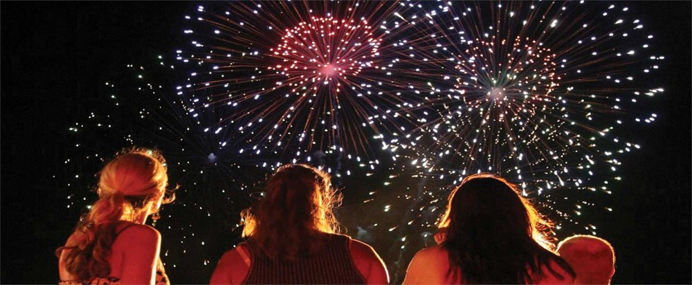 Fireworks in Alex City at BRHS - July 3