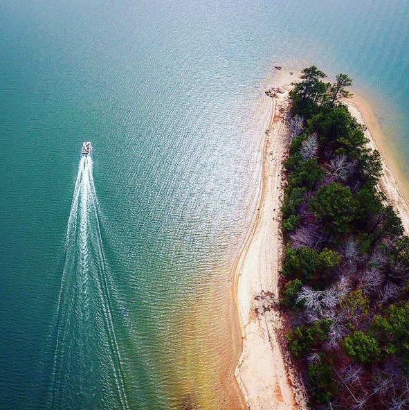 This Photo from Photographer @privatepilotpyle @johnpyle is one of our all time favorites. Thanks for the tag John, your Lake Martin photos are amazing!