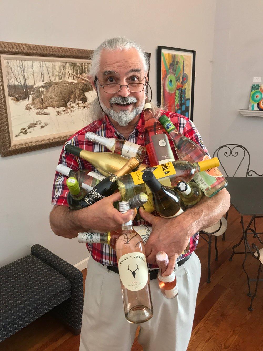 Meet Poppa Cork - Henry Foy, owner of Wine Emporium.
