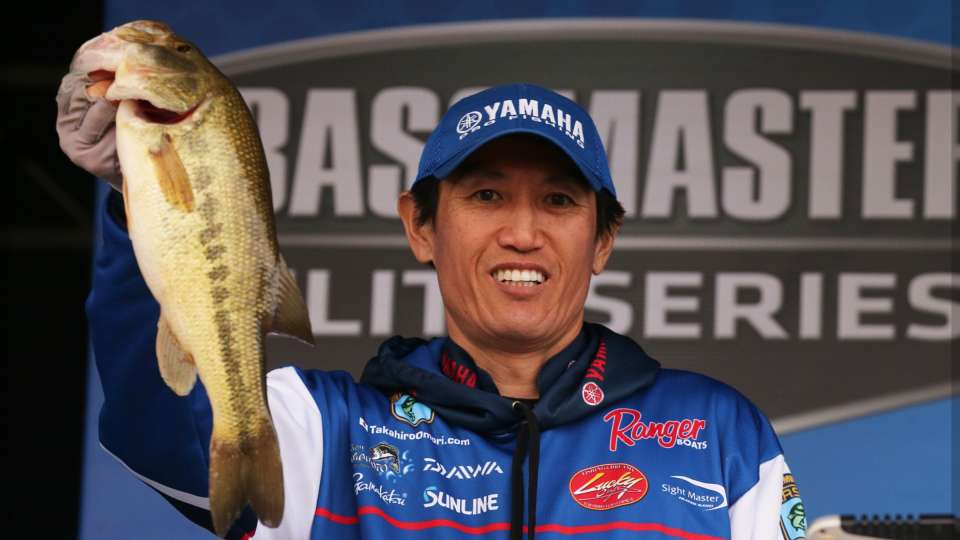 Day Two Leader is Takahiro Omori with a two-day total of 32-11