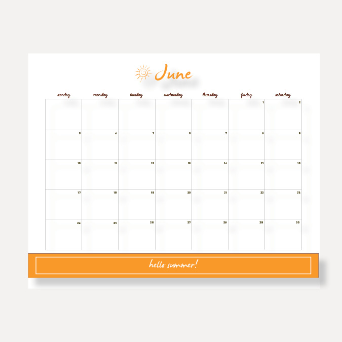 JUNE CALENDAR click here to download