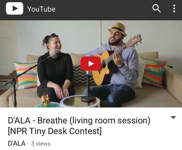 We are so amped share our submission for the 2017 Tiny Desk Contest on our brand-new YouTube channel. Check it out and subscribe 😎 [ Link in the bio ]