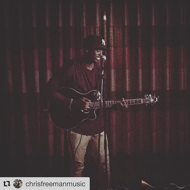 #Repost @chrisfreemanmusic ・・・ This gig meant a lot..first time performing one of my original, signing to an independent label.. Definitely a night I'll always remember. Thanks to @thrdsuk for the shoot and promo and to @wegnc for letting me be a part of their event🙏🏾🙏🏾 moving foward @ulteriamusic and shaping the dream one day at a time.  #godwillblessus #musicianlife #singersongwriter #stepintothejourney
