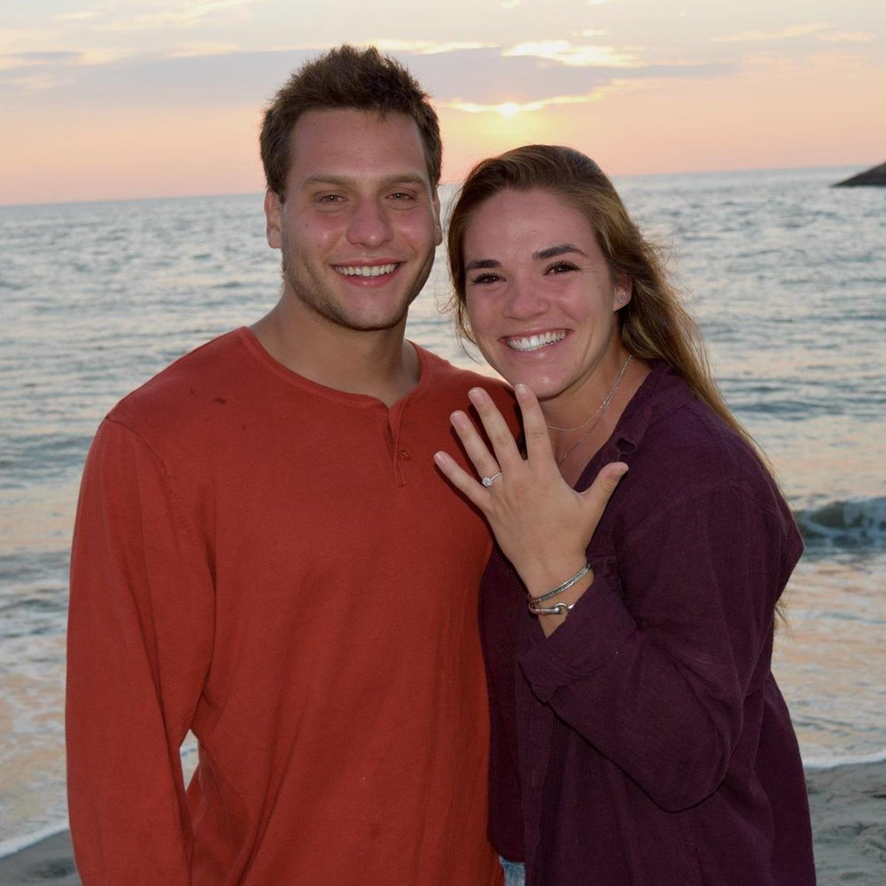 And Coach Damian is off to California to marry Haley on August 11th! Want to send them a message? Click here!