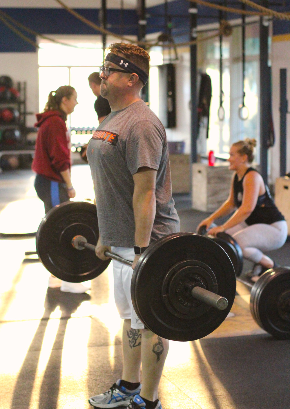Happiest of Birthdays to PVCF athlete, Tommie Peckenpaugh! And congratulations on completing your very first month with Pioneer Valley CrossFit; you're doing great, Tommie!