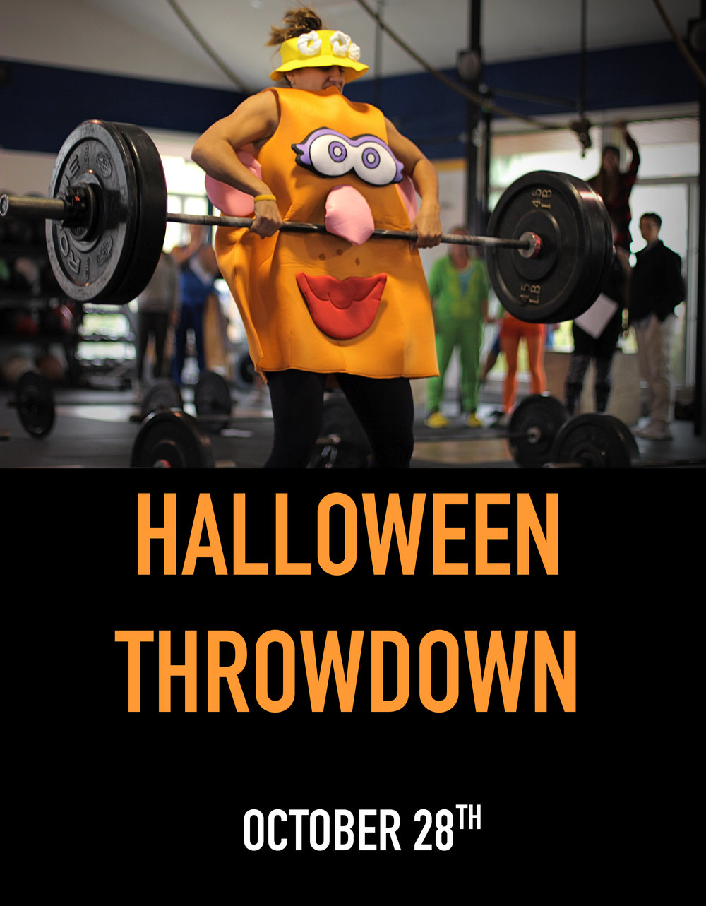Save the Date! Our very own Halloween Throwdown!
