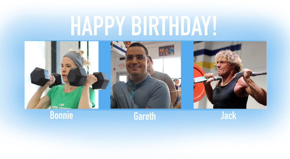 What a better way to kick off this gorgeous weekend than with some more BIRTHDAYS!! Happy Birthday to Bonnie, Gareth, and Jack!💫🎉
