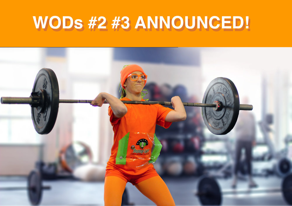 The PVCF Halloween Throwdown! WODs #2 and #3 are announced! Click   here   to find out what they are!