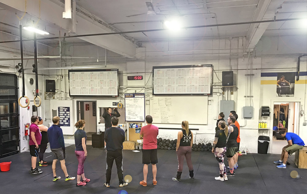 How do you find sunshine even after the sun has set? At Pioneer Valley CrossFit, of course!