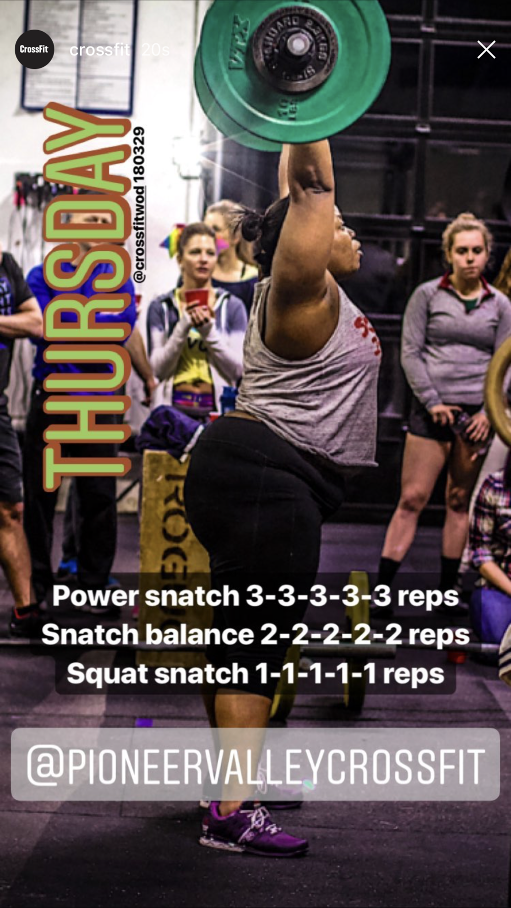 Our PVCF athlete, Dre Dominigue was featured in CrossFit's story! Missed this? Follow us on Instagram! Click  here