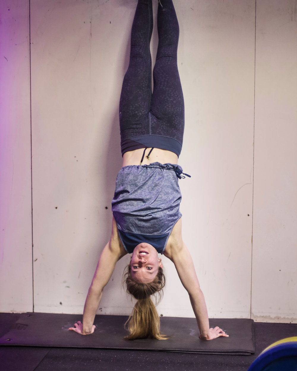 Nate is one workout that will turn you upside down! Here's PVCF athlete, Katie Byrne showing us how it's done:)