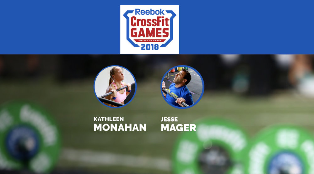 Congratulations to PVCF athletes, Katie Monahan and Jesse Mager! They are competiting in the CrossFit Games Online Qualifier this weekend! We will be announcing when they are working out so that we may all cheer them on!
