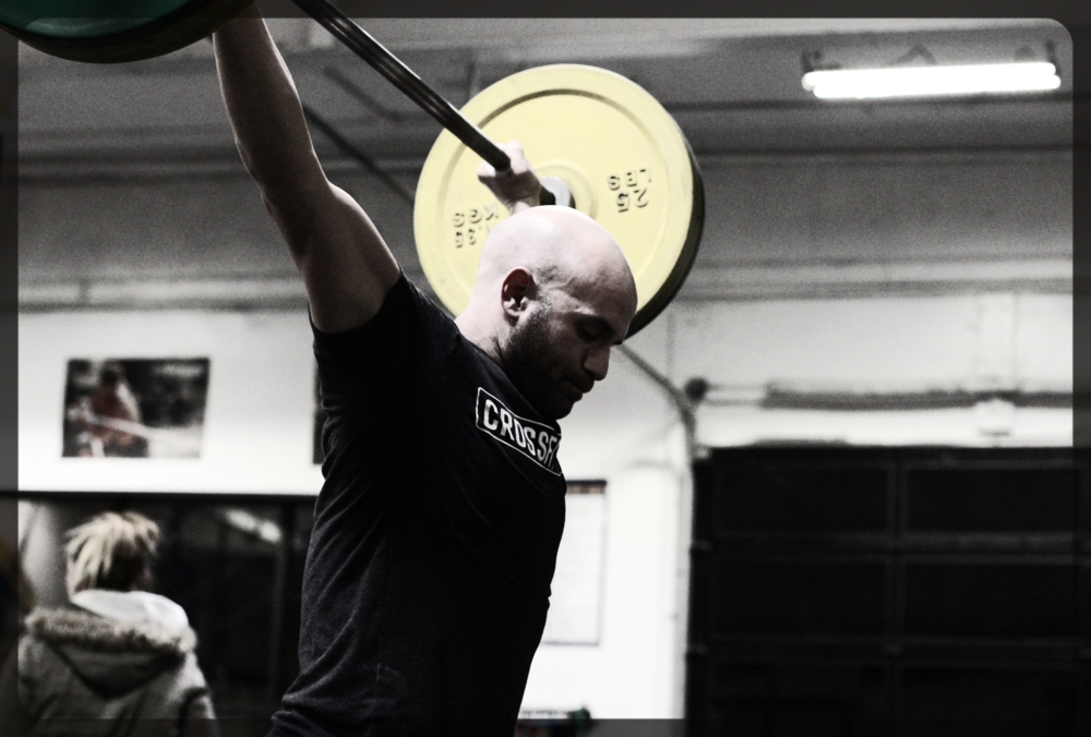 Three cheers for max rep power snatch!