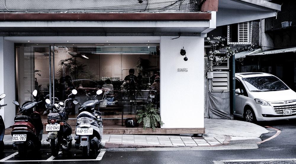POWDER WORKSHOP:No. 25, Lane 86, Section 2, Xinyi Road, Da'an District, Taipei City 106, Taiwan.