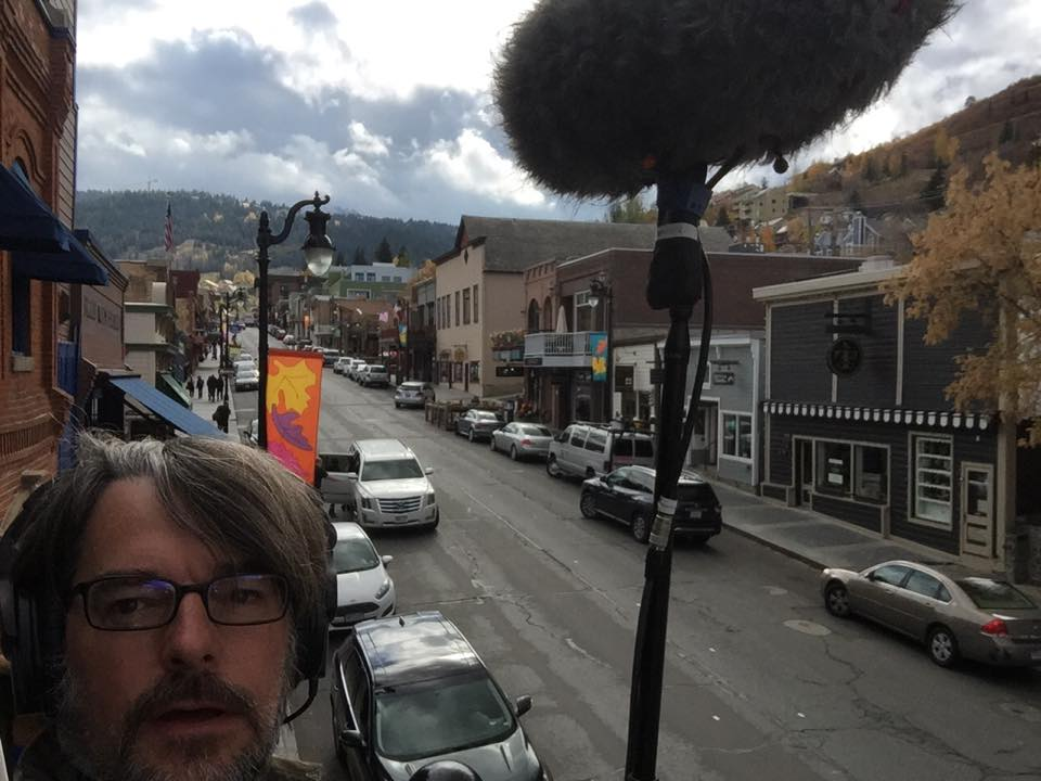 Hanging out in Park City, UT.