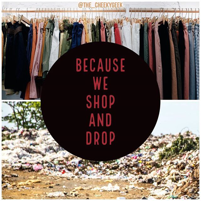 Now I know why Marie Condo tells us to thank clothes, because they were made at the cost of human rights and the environment. #thetruecostmovie #mariekondo #disposablefashion