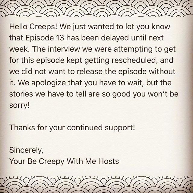 Bad news but good news! #podcastlife #podcasting #gottogetthatinterview #comingsoon