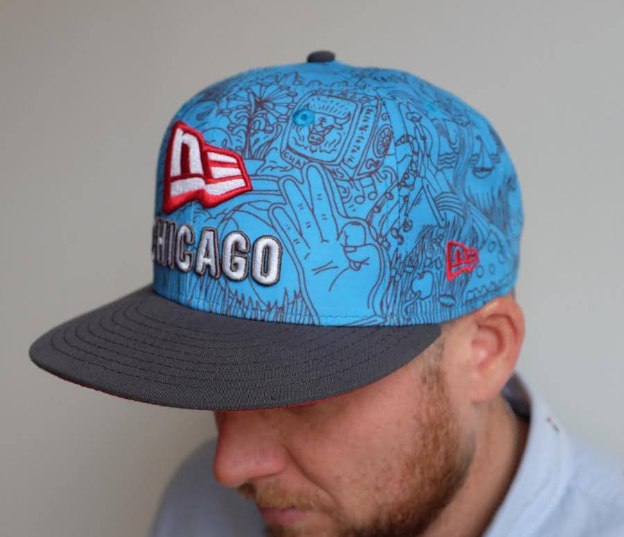 Limited edition hat design by Jesse Hora