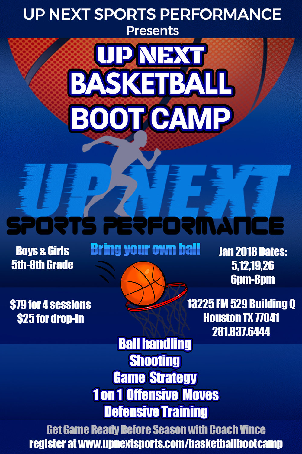 Up Next Basketball Boot Camp