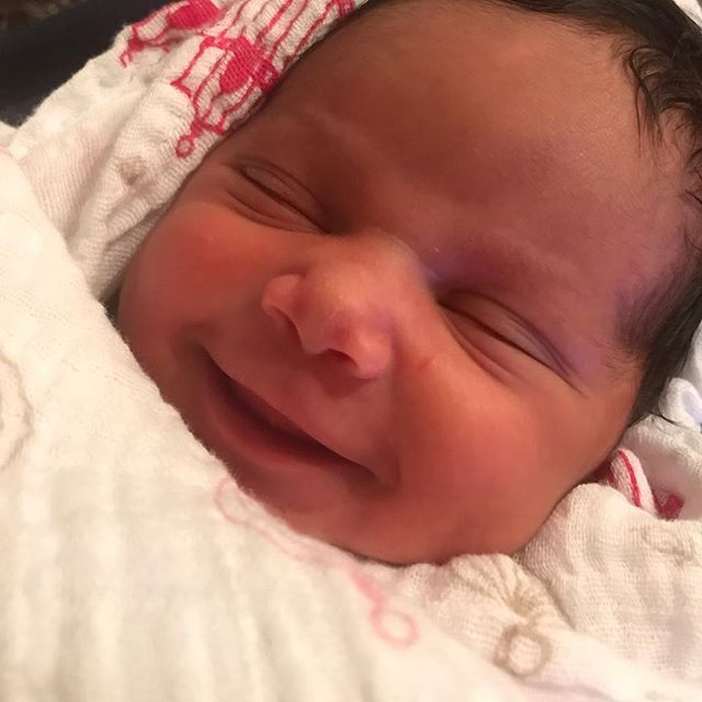 """Just blessed to have a healthy baby and wife! """"Short Version"""" value your family because you never know👍🏽👍🏽👍🏽 Havana  Daily Gilreath."""