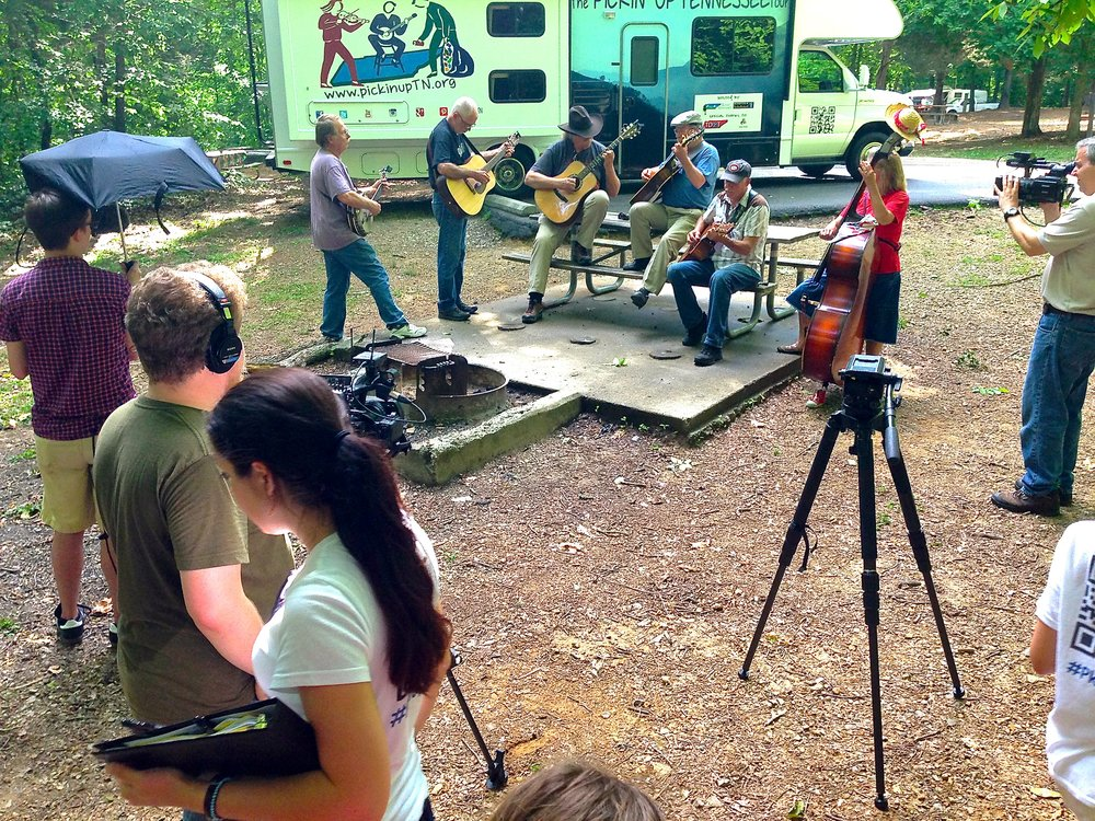 THE TEAM. Click to learn about the great people behind the scenes (and behind the cameras) of Pickin' Up Tennessee.