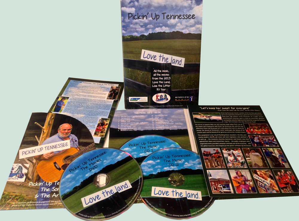 THE CD/DVD. All the music, all the movies, in one eco-friendly package. Click to order yours today.