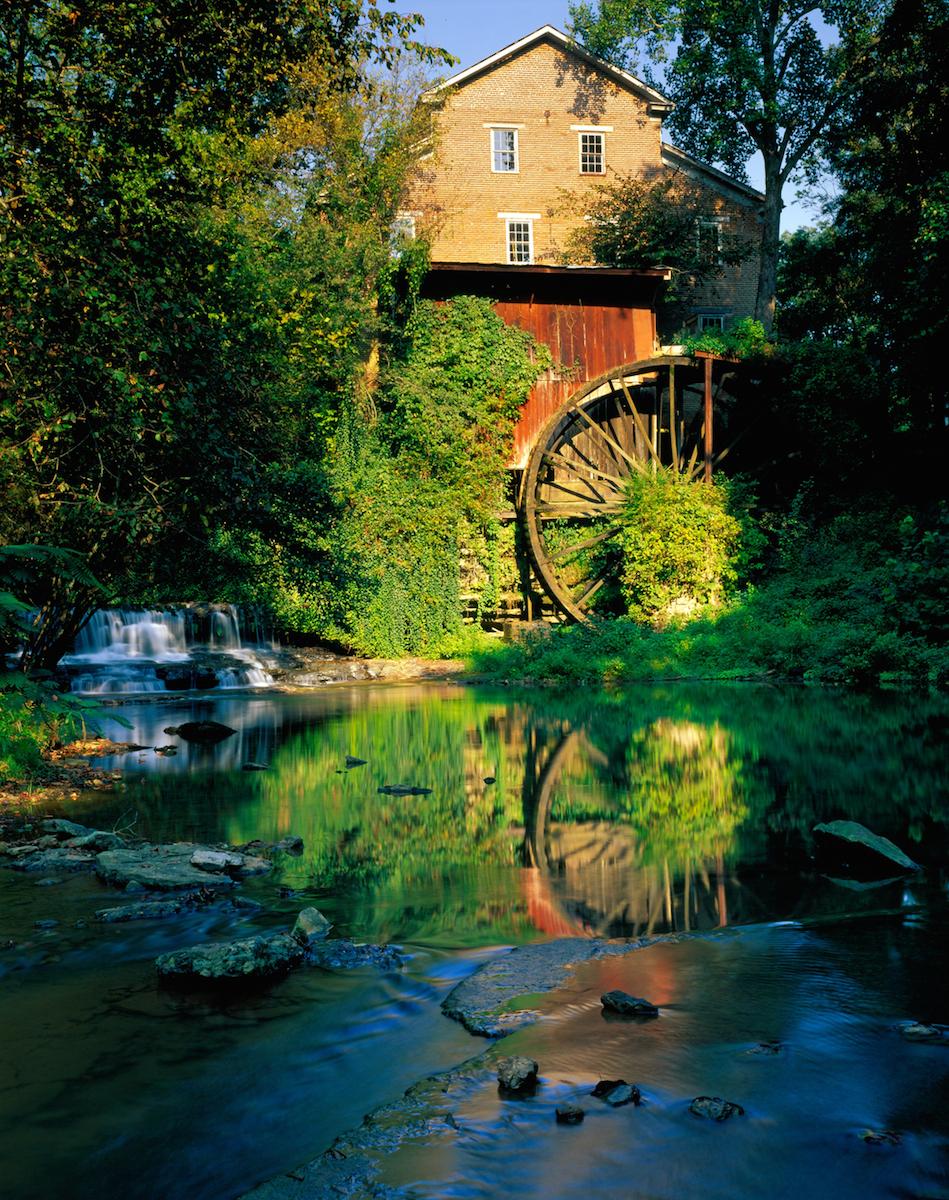 Falls Mill, Belvidere  by Joe Allen