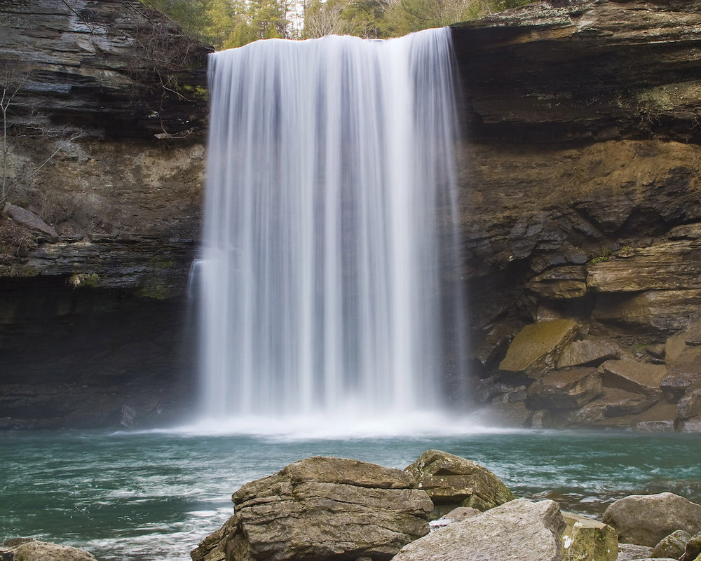 Greeter Falls, Savage Gulf  by J.Orrand