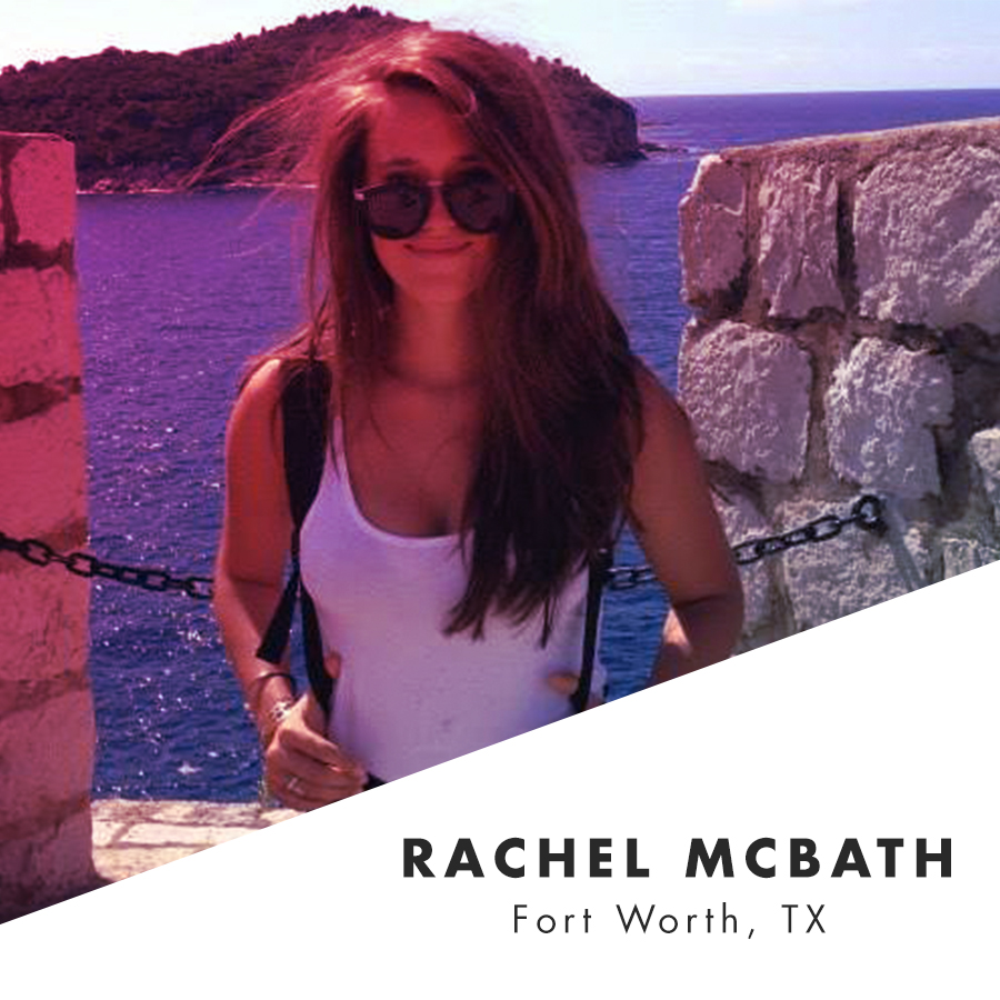 Rachel McBath lives nomadically throughout Texas, and interests include venturing through obscure countries (what's up, Bosnia!) and getting masochistic with her tastebuds (she's a hot sauce enthusiast). At any time, you can find her waist-deep in Reddit threads, theorizing about bad television with anyone who will listen, reading, or briskly walking at random.    @mcbitchin