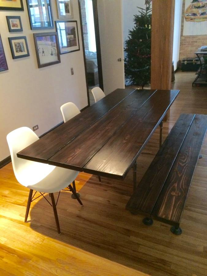 $350 custom dining table