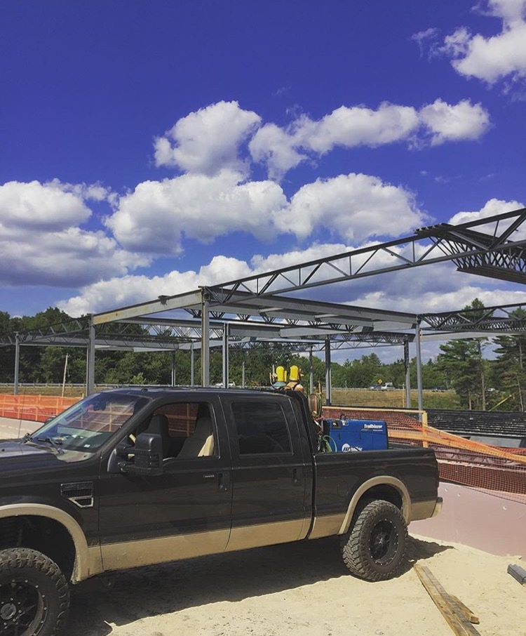 Derry, NH - Steel Erection