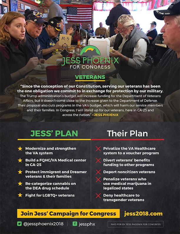 Click Here for Details on Jess'Veterans Platform
