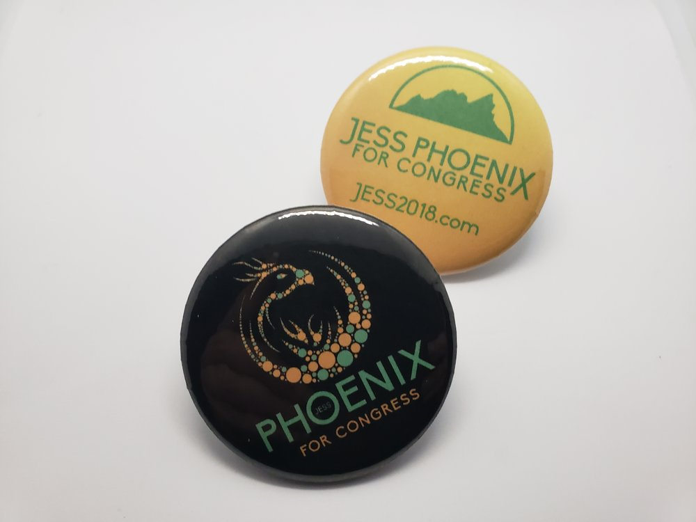 Jess Phoenix Buttons