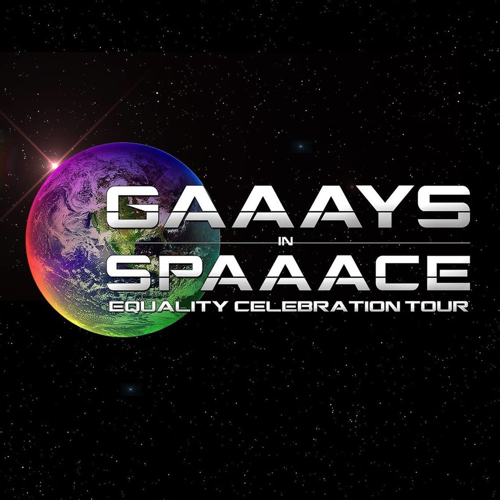 GAAAYS in SPAAACE   A group of Star Trek fans devoted to equality and inclusion in representation in their favorite TV franchise.