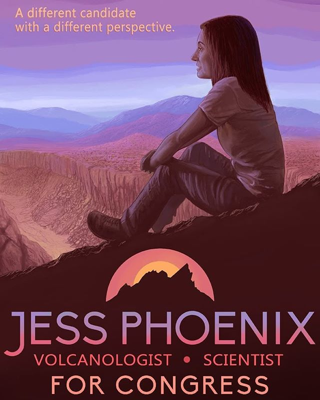 """""""A different candidate with a different perspective."""" #CA25 #Jess2018 #RiseUp"""
