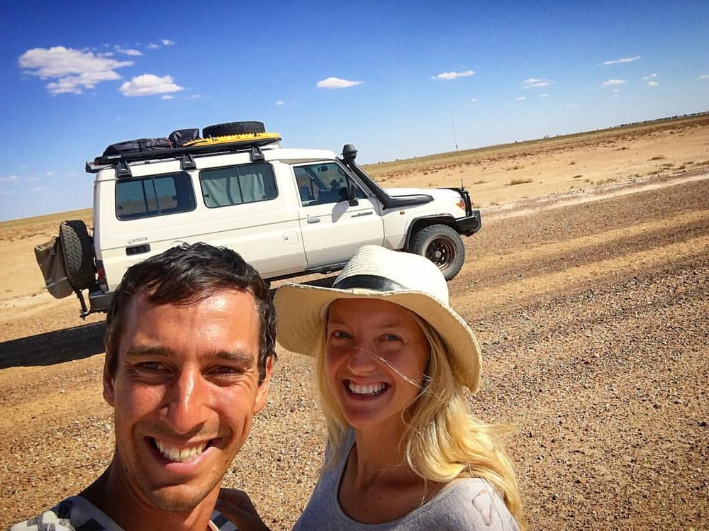 Team Curiosat Peter & Sandra https://blog.moonshotspace.co/how-we-joined-a-pre-accelerator-while-travelling-in-the-outback-de539e41d697