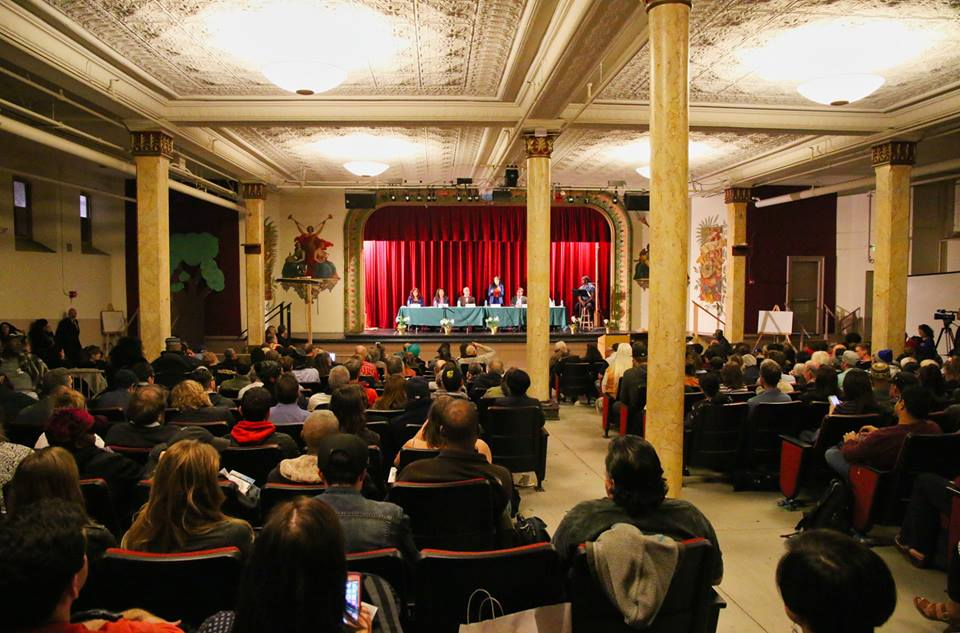 April 4th Tenderloin's SF Mayoral Candidate Forum, courtesy of David Elliott Lewis