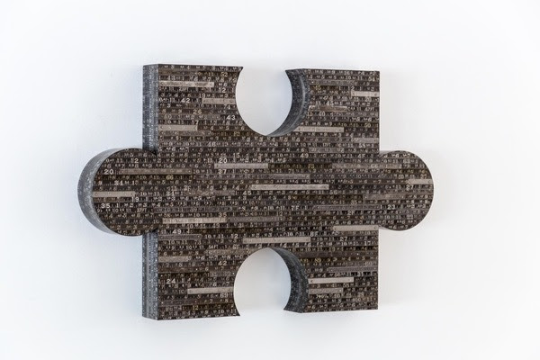 "Tim Yankosky's ""These Are Puzzling Times"" - courtesy of the artist and the Andrea Schwartz Gallery"