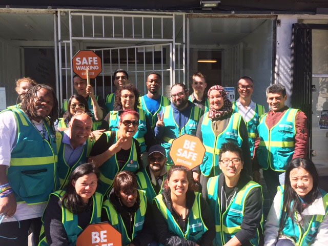 Our wonderful volunteers from Microsoft