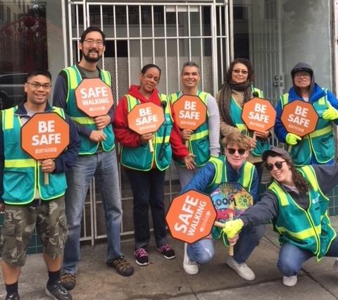 Volunteers from St. Ignatius College Preparatory (via Faithful Fools)