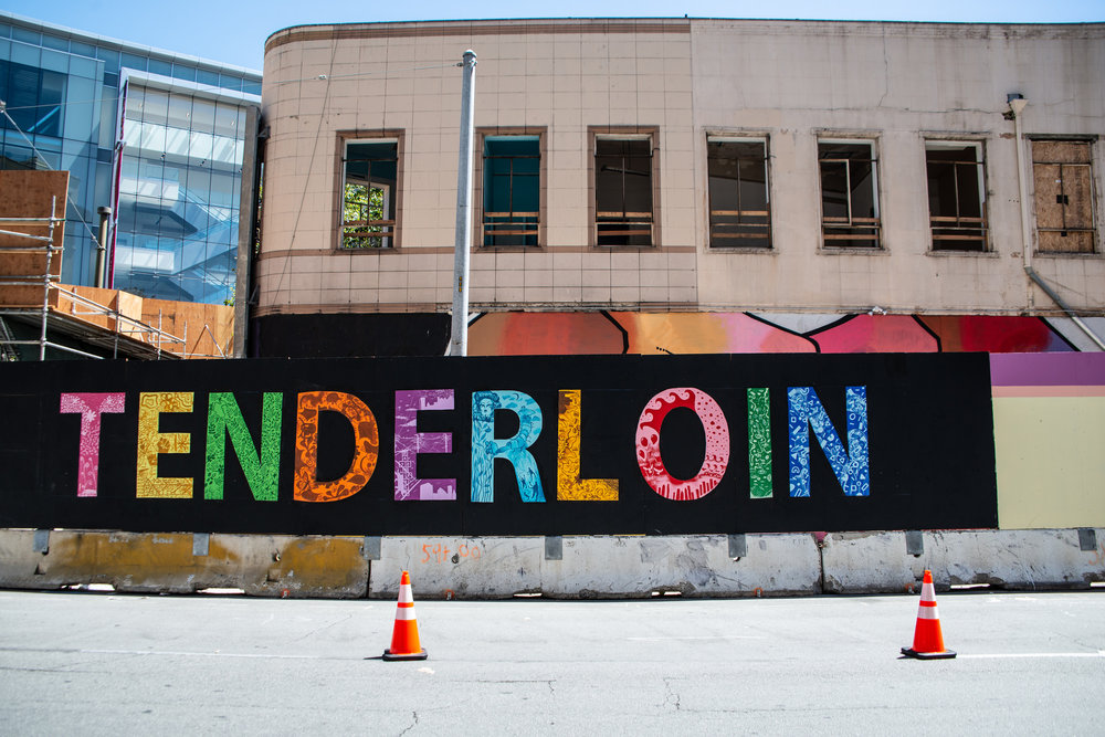 Turk Street Mural by Twin Walls Mural Co. Photo by Robbie Sweeny