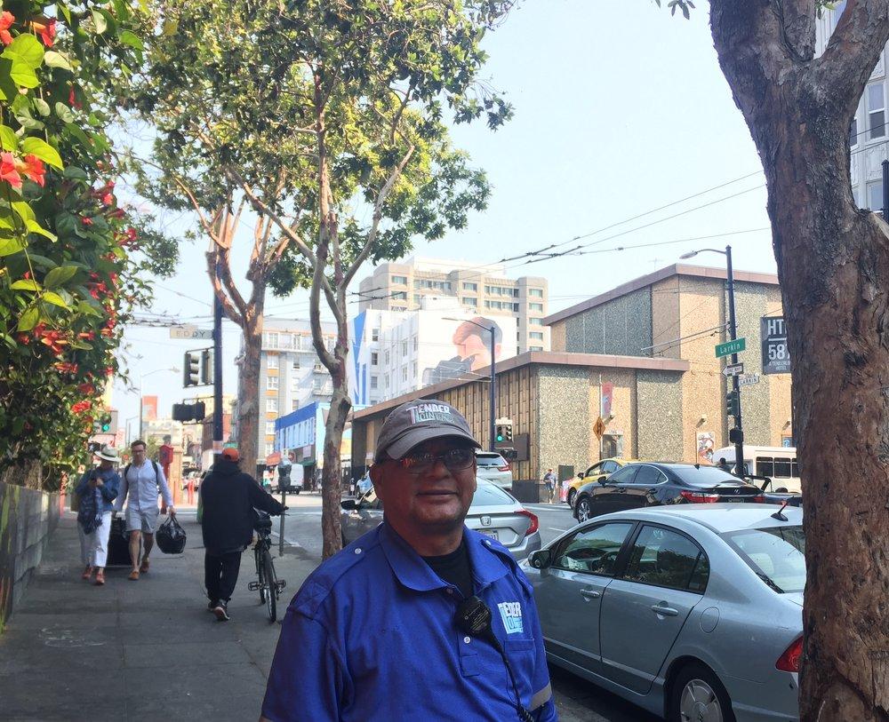Meet Hector, the Larkin-Little Saigon Micro Neighborhood Clean Team Member