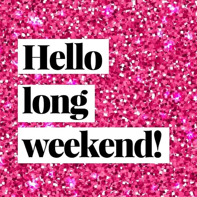 Hope you enjoy the long weekend! We're closed for Labour Day but reopen Tuesday at 9am 💕