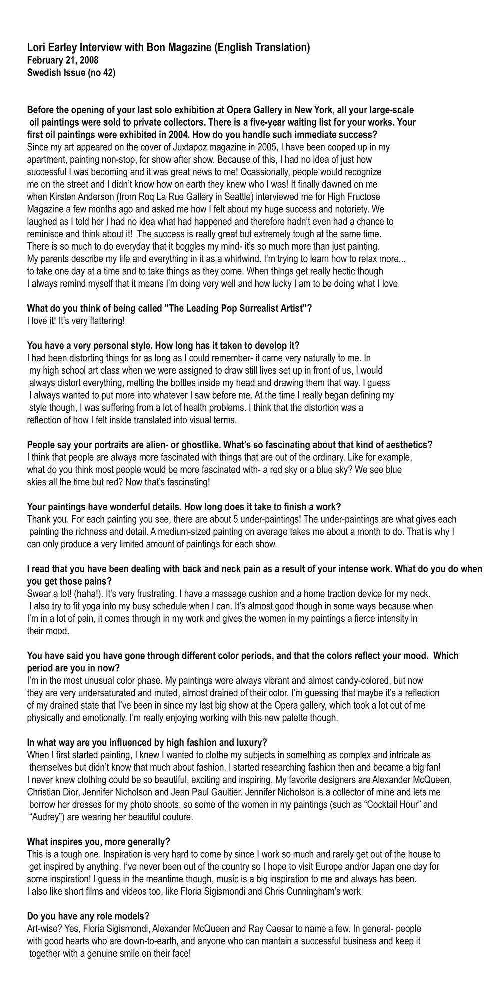 Bon Magazine 2008 Interview text.jpg