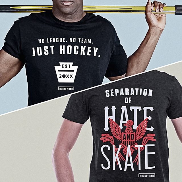 @thehockeybar gear is out now! We're building a place to channel the positivity and enthusiasm of hockey fans. But until then, scoop up a limited edition shirt to help make it happen. www.thehockeybar.com #hockey #hockeyfans #2018goals
