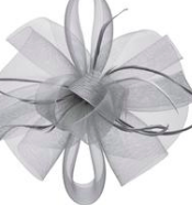 Joanna Hope Fascinator Gray $24.49
