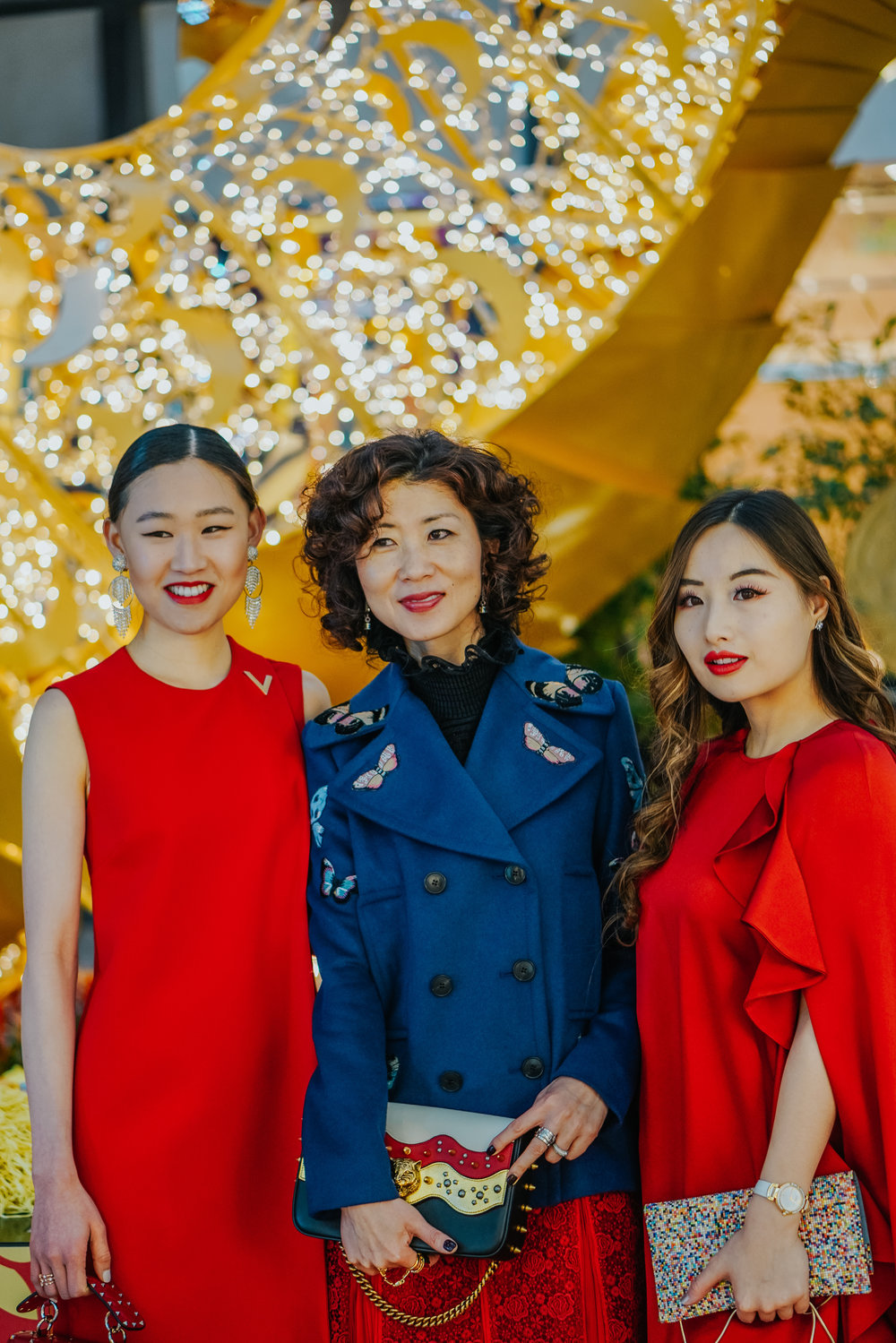 With beautiful influencer Meiling Jin and Jaime Xie