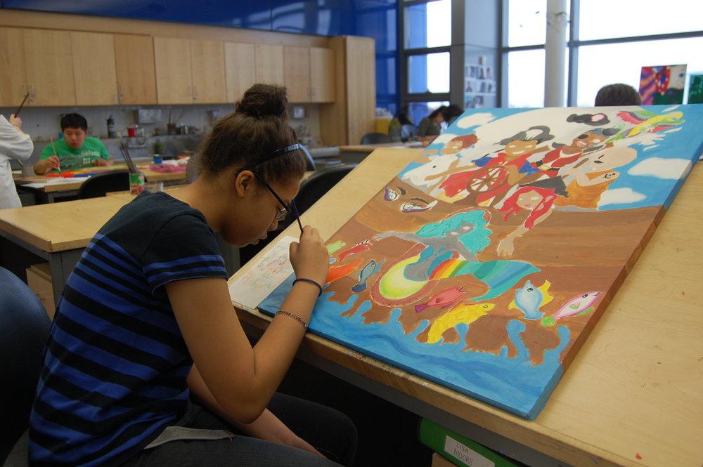 Lisa painting.JPG